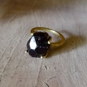 "Mysterious Muse""- Genuine Almandine Garnet Gemston"